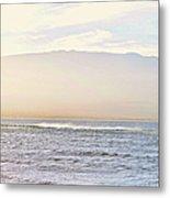 Maalaea Morning Surf Metal Print