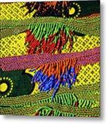 Maasai Beadwork Metal Print