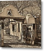 Mabel's Gate - A Different View Metal Print