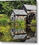 Mabry Mill In Virginia Metal Print