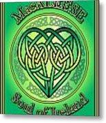 Macaleese Soul Of Ireland Metal Print
