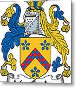 Maccusker Coat Of Arms Irish Metal Print