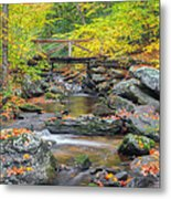 Macedonia Brook Square Metal Print