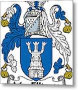 Macelligott Coat Of Arms Irish Metal Print