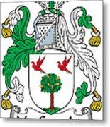Macgeraghty Coat Of Arms Irish Metal Print