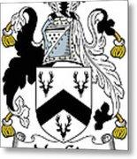 Macgirr Coat Of Arms Irish Metal Print