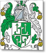 Macgogarty Coat Of Arms Irish Metal Print