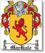 Machale Coat Of Arms Irish Metal Print