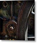 Mechanical Pareidolia  Metal Print