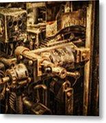 Machine Part Metal Print