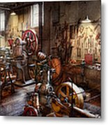 Machinist - A Room Full Of Memories  Metal Print