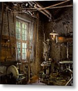 Machinist - Industrial Revolution Metal Print