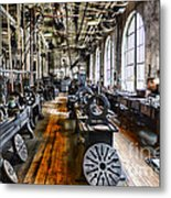 Machinist - Precision Matters Metal Print by Paul Ward