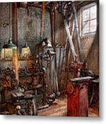 Machinist - The Modern Workshop  Metal Print
