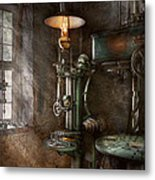 Machinist - Where Inventions Are Born Metal Print