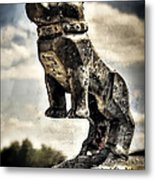 Mack Truck Hood Ornament  Metal Print