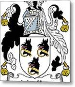 Mackee Coat Of Arms Irish Metal Print