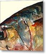Mackerel Fish Metal Print