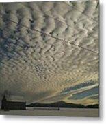 Mackerel Sky Metal Print