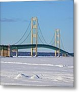 Mackinac In March Metal Print