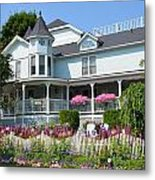 Mackinac Island Hospital Metal Print
