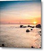Mackinac Sunrise Metal Print
