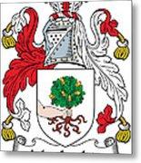 Macloskie Coat Of Arms Irish Metal Print
