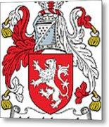 Macmorogh Coat Of Arms Irish Metal Print