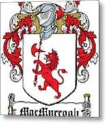 Macmurrogh Coat Of Arms Carlow Ireland Metal Print