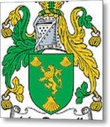 Macrannell Coat Of Arms Metal Print