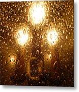Macro Lights Metal Print