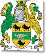 Macsweeney Coat Of Arms Irish Metal Print