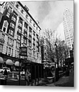 Macys At Broadway And 34th Street Herald Square New York City Metal Print by Joe Fox