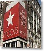 Macy's Department Store Metal Print