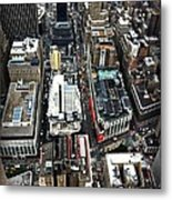 Macy's From Above Metal Print