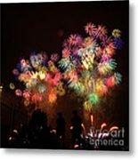 Macy's July 4th Fireworks New York City  Metal Print