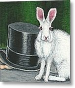 Mad March Hare -- Now You See How It Feels Metal Print by Sherry Goeben