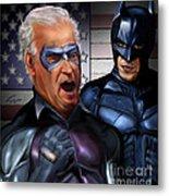 Mad Men Series 3 Of 6 - Obama And Biden Metal Print by Reggie Duffie