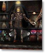 Mad Scientist - The Enforcer Metal Print