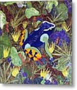 Madagascar Mantella Metal Print by Lynda K Boardman