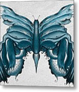 Madam Butterfly Metal Print