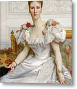 Madam The Countess Of Cambaceres Metal Print