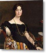 Madame Jacques-louis Leblanc. Francoise Poncelle Metal Print
