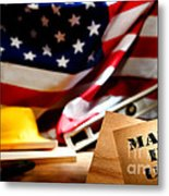 Made In Usa Metal Print