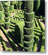Madeira Botanic Gardens Topiary Metal Print