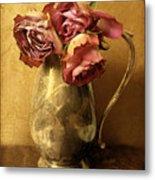 Madeira Roses Metal Print