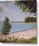 Madelyn's Point Metal Print