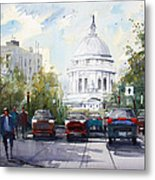 Madison - Capitol Metal Print