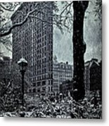 Madison Square And The Flatiron Building Metal Print