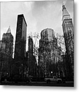 Madison Square Park Flatiron District New York City Metal Print